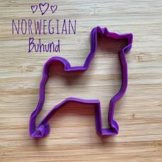 Koekvorm Noorse Buhund